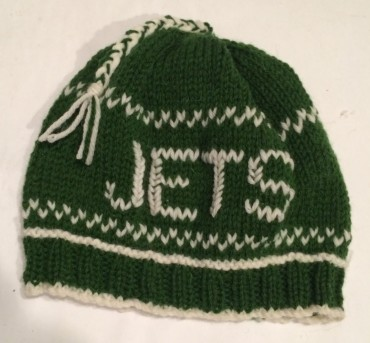 Knit Jets Hats